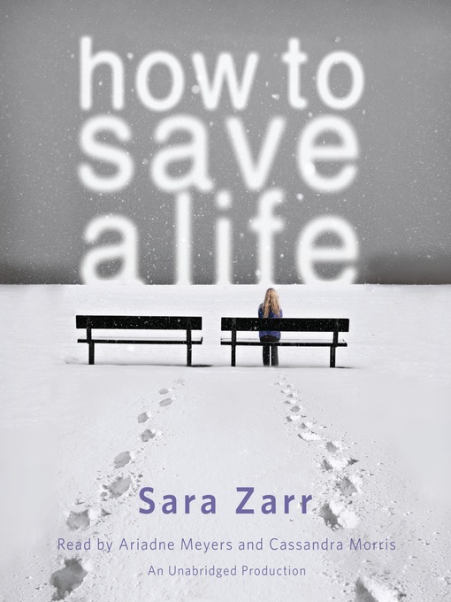 how to save a life bookjacket